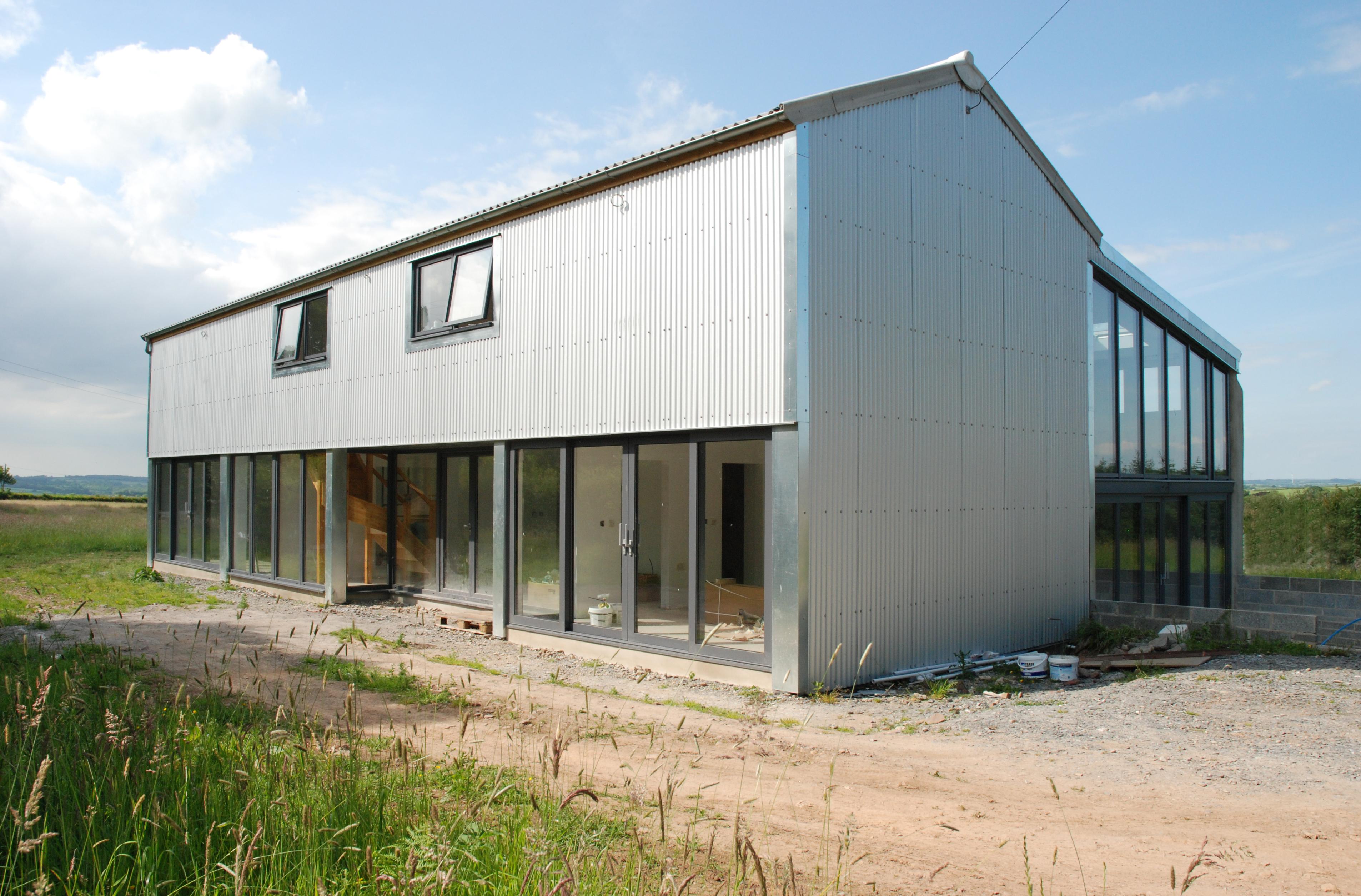 Thelbridge Barn Conversion Timber Intent Architecture